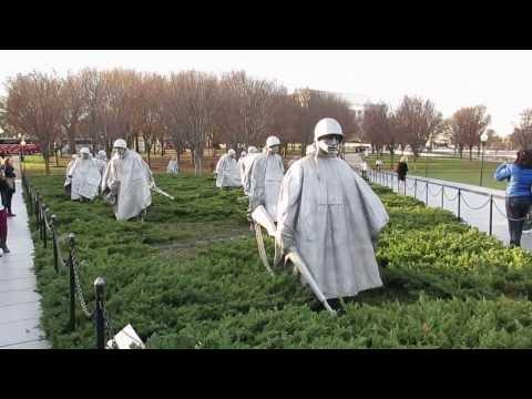 Korean War Veterans Memorial - Washington D.C. - December 19, 2013