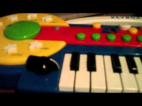 Circuit Bending Fool - Kmart Keys - gLITcHEd OuT