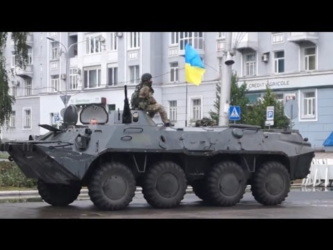 Украина.Артемовск.Наши в городе!Видео |Донецк / Ukraine army in Artemovsk!