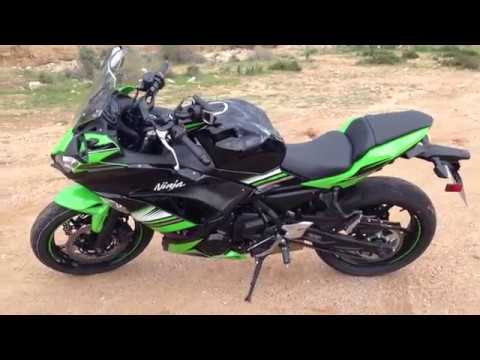 premi res impressions de l 39 essai de la kawasaki ninja 650 2017 youtube. Black Bedroom Furniture Sets. Home Design Ideas