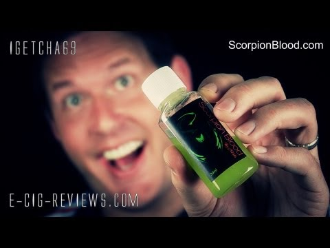 REVIEW OF THE SCORPION BLOOD E-LIQUID