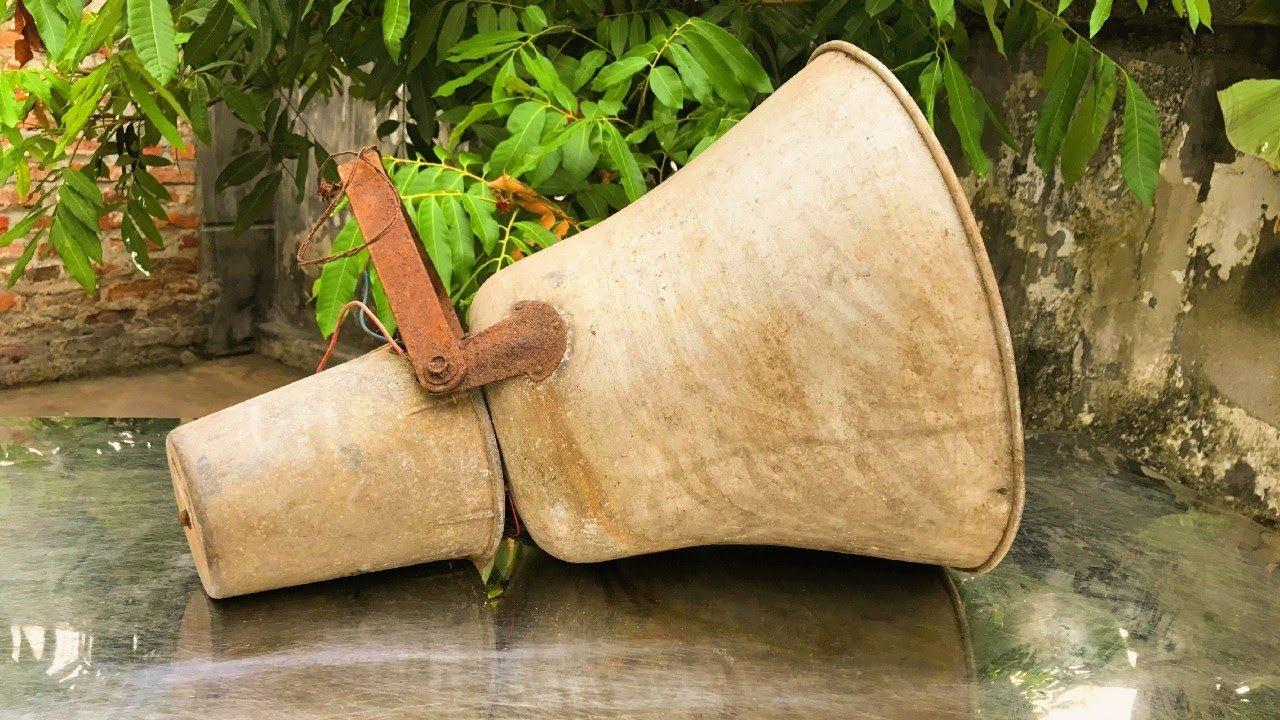 Restoration old broken RADIO speakers | Restore rusted speakers