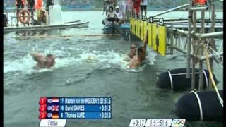 Maarten van der Weijden OS Beijing 10 km Open Water Zwemmen