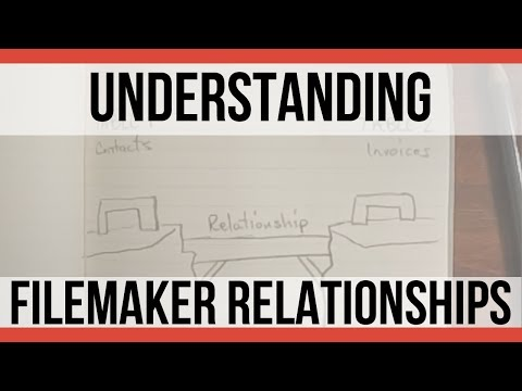 Understanding FileMaker Relationships | FileMaker Pro 16 Videos | FileMaker 16 Training