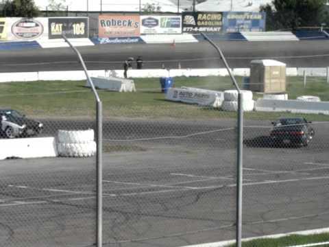 Stockton 99 Speedway Drift Competition Crunch 4-29-12