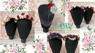 манекен головы из крафт бумаги Своими руками Как сделать / DIY Mannequin head from craft paper