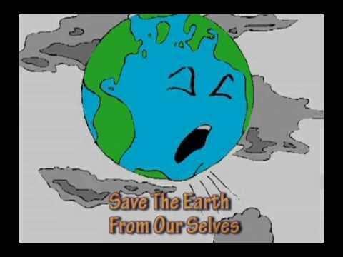 Save our earth animation