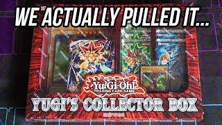 Yu-Gi-Oh! Yugi's Collector Box Opening! Pretty Crazy Pulls!