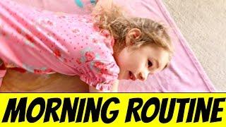 Morning Routine - Kids Get Ready For School - DisneyCarToys Family