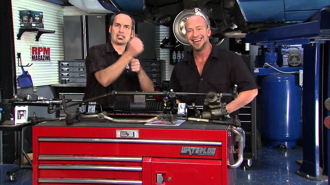 Two Guys Garage Unisteer Chevelle Steering Rack & Pinion ...