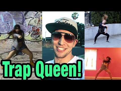 TRAP QUEEN - Fetty Wap Dance Compilation | @MattSteffanina Choreography #DanceOnTrap