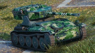 aMX 12 t  World of Tanks gameplay