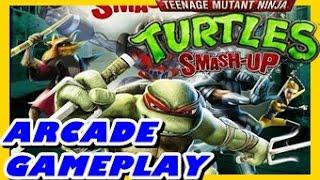 tortugas ninja smash up modo arcade