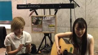 ななみさんのオリジナル曲 揚羽蝶 アダルトな雰囲気とスピード感のあるギターの弾き語りです。 ななみ with RIN合同LIVEにて 2017年 6月29日 横浜.