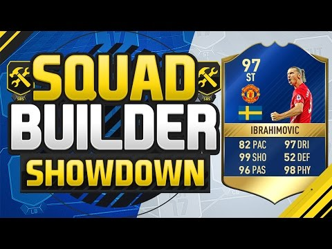 FIFA 17 SQUAD BUILDER SHOWDOWN!!! TEAM OF THE SEASON IBRAHIMOVIC!!! 97 Rated Zlatan Squad Duel