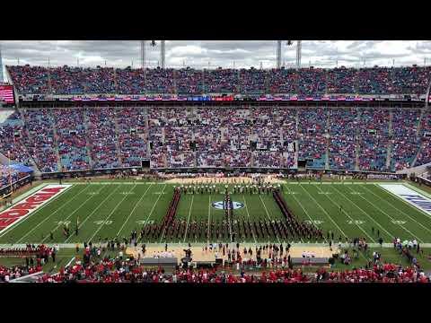 University of Georgia Redcoat Marching Band Pregame vs. Florida 10/27/18