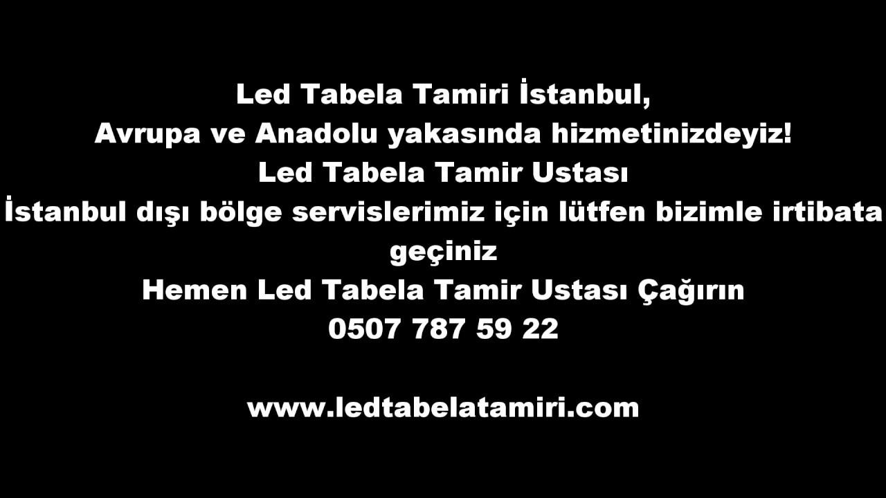 Led Tabela ve Kayan Yazı Tamiri Yapılır! www.ledtabelatamiri.com