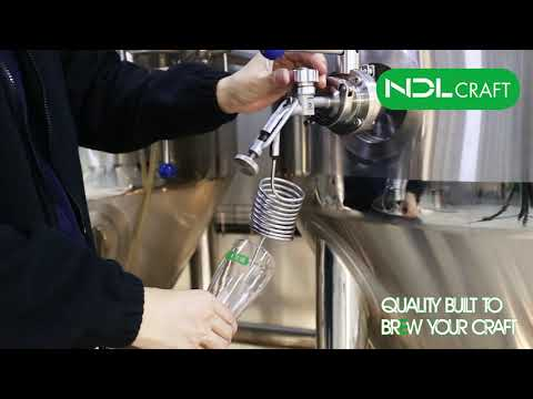 NDL CRAFT Beer Brewery Plant, Welcome All Friends