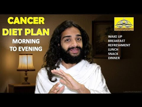 FULL DAY CANCER DIET PLAN | CANCER CURE DIET MENU BY NITYANANDAM SHREE