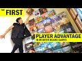 Is Going First Always The Best In A Board Game? - First Player Advantage  / Move In Turn Based Games
