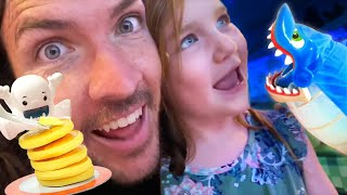 Disney Cruise Games & Fun The Movie!!  Adley Plays Her Favorite Videos With Mom & Dad  Game Master