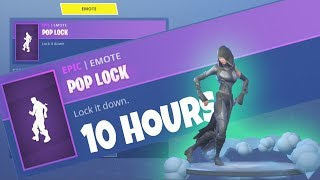 FORTNITE *New* FATE Skin POP LOCK EMOTE 10 HOURS | FORTNITE SEASON 4