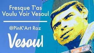 Street Art à Vesoul : la fresque Brel