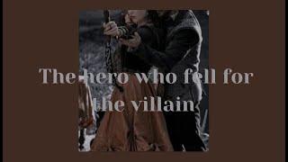The hero who fell for the villain ( a dark royalty x villain playlist )