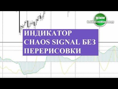 Индикатор Chaos Signal без перерисовки с отзывом и наброском стратегии