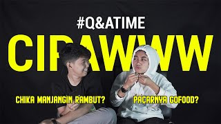 Download lagu Q&A CIPAWWW - CHIKA MANJANGIN RAMBUT?