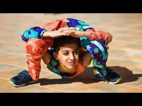 REAL-LIFE Spiderman Kid Breaks Guinness World Record!