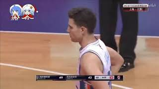 Jimmer goes for 39 and 7 steals as the sharks improve to 4 and  1 with a win vs the jiangsu dragons