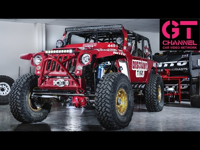 3ae57980 The World's Toughest Jeep - Off Road Evolution's EVO1