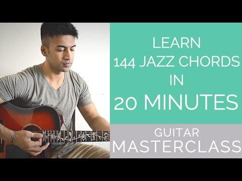MASTERCLASS - Learn 144 JAZZ Chords in 20 mins - BEGINNER JAZZ Lesson