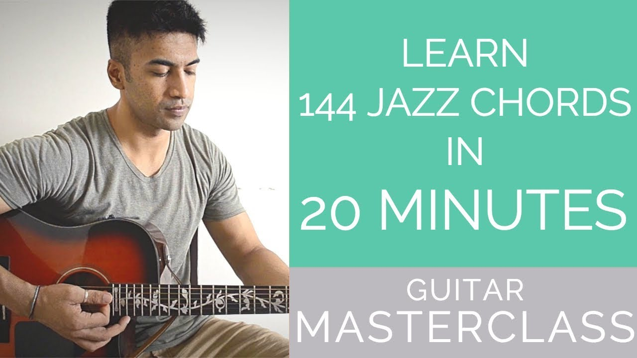 Masterclass learn 144 jazz chords in 20 mins beginner jazz masterclass learn 144 jazz chords in 20 mins beginner jazz lesson hexwebz Image collections