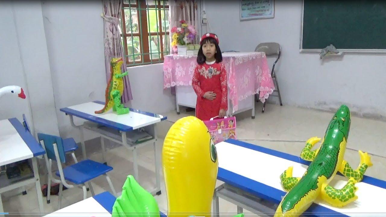 Trò Chơi Bé Tập Làm Cô Giáo ❤ Video Hài ❤ Baby channel
