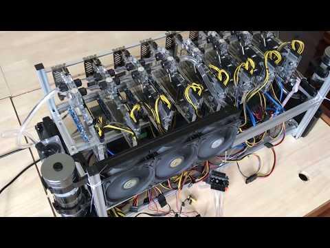 Water Cooling for 8 GPU Mining Rig GTX 1080Ti