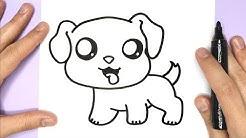 Kawaii Hund zeichnen  - Kawaii Bilder