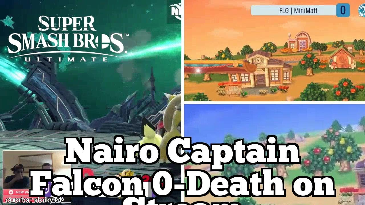 Daily SSBU Highlights: Nairo Captain Falcon 0-Death on