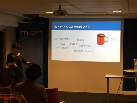 Stockholm NLP Meetup - Named Entity Recognition 2014-12-18