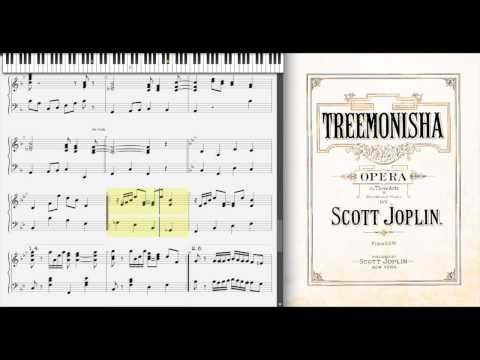 A Real Slow Drag by Scott Joplin (1911, Treemonisha)