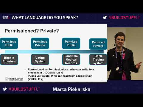 Marta Piekarska - Real life usecases of Blockchain and open source