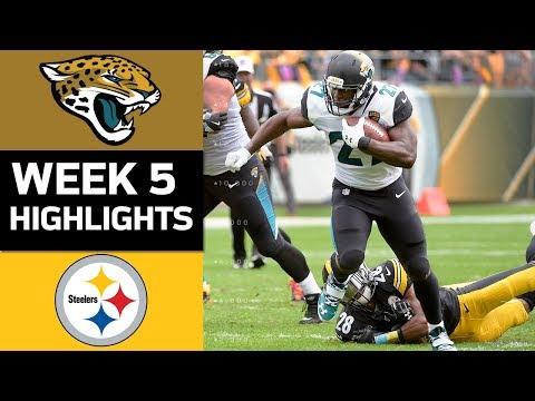 Jaguars vs. Steelers   NFL Week 5 Game Highlights