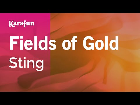 Karaoke Fields of Gold - Sting *