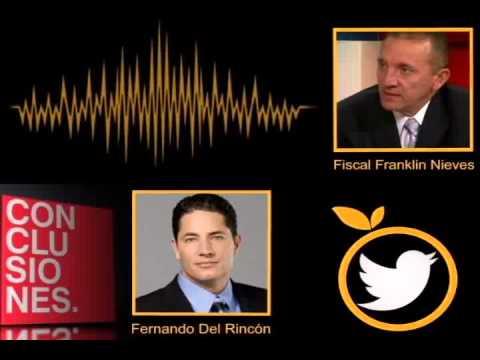 #AudioConclusiones    Fiscal Nieves
