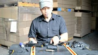Airsoft CO2 Cartridge Magazine Loading - How to Video