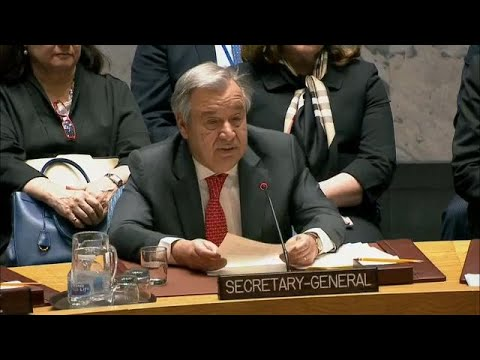 UN Chief on Regional Partnership in Afghanistan and Central Asia