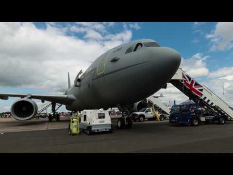 C-130H ; CASA C-295M; CN-235-100 MPA; Boeing 757-22QC; A330 Voyager KC3; C-160D Transall (RIAT 2016)