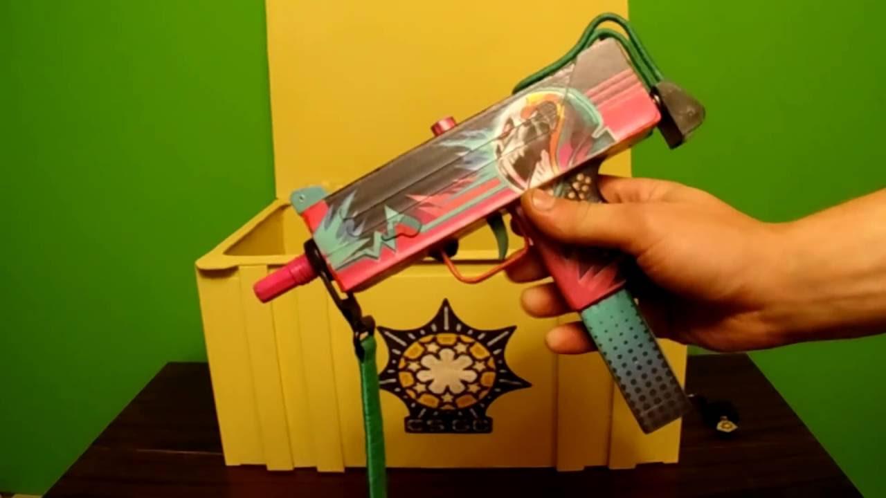 ОБЗОР НА РЕАЛЬНЫЕ НОЖИ CS:GO - Керамбит Градиент и Штык нож .