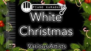 White Christmas - Bing Crosby (and various artists) - Piano Karaoke